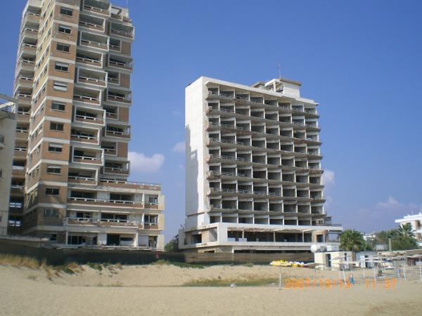 Abandoned Beach Resort City, Varosha, Cyprus