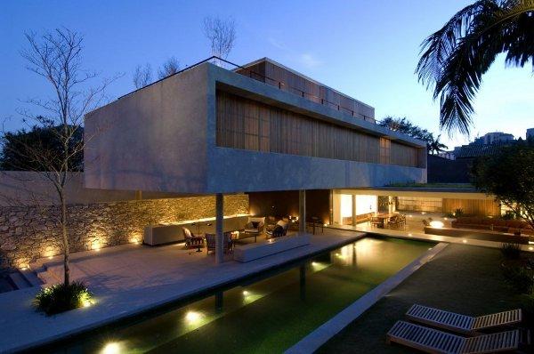 House 6 Sao Paulo by Marcio Kogan 1 House 6 Sao Paulo by Marcio Kogan