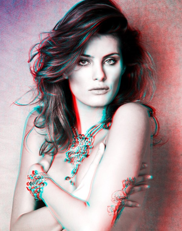 Isabeli Fontana by Jacques Dequeker in 3D 1 Isabeli Fontana in 3D by Jacques Dequeker