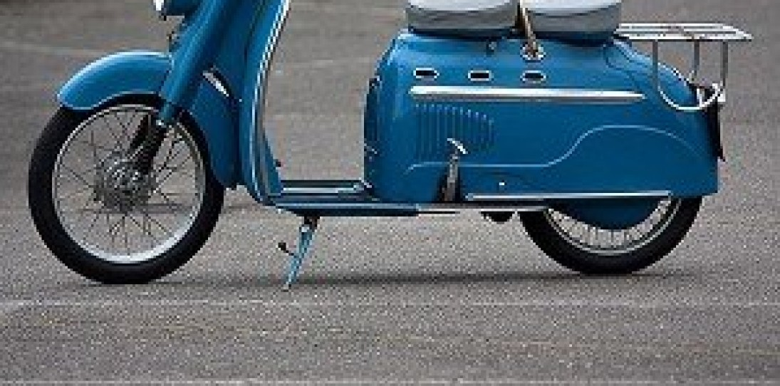 The 1956 Manurhin Scooter