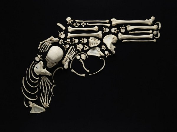 francois robert bone art 1 Bone Art by Francois Robert: Stop the Violence