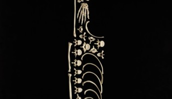 Bone Art by Francois Robert: Stop the Violence