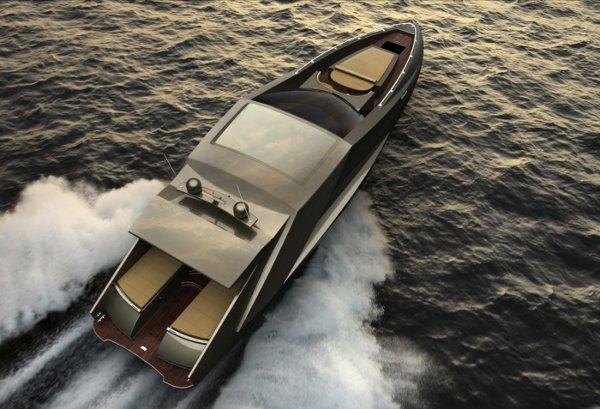 lamborghini yacht by mauro lecchi 1 The Lamborghini Yacht by Mauro Lecchi