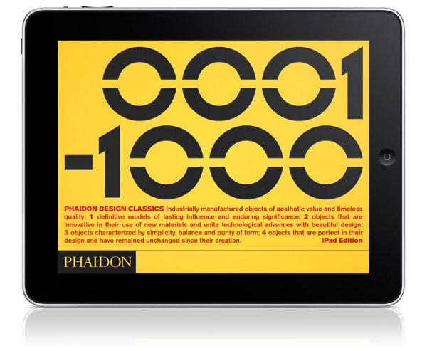 phaidon design classics for ipad 1 Phaidon Design Classics iPad App