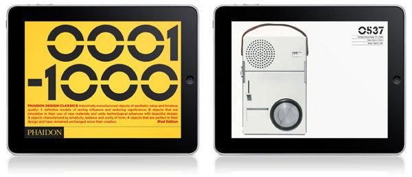phaidon design classics for ipad 2 Phaidon Design Classics iPad App