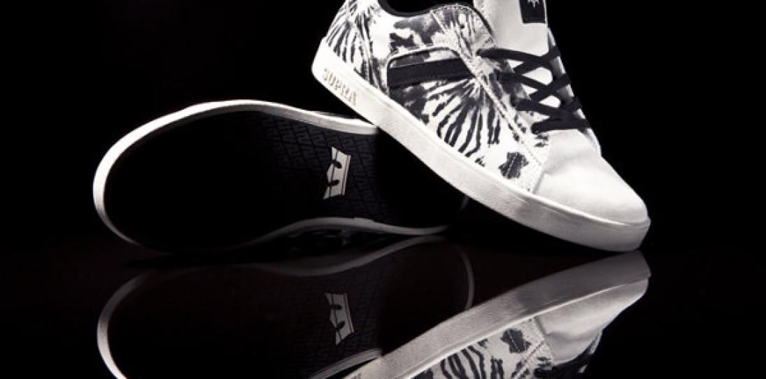 Supra Bullet White Tie Dye Sneakers