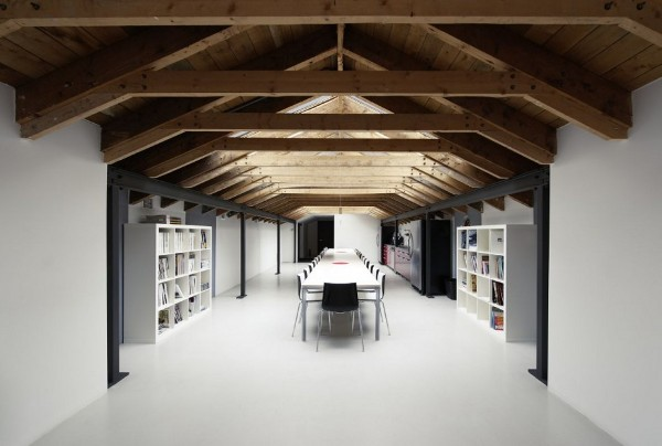 architectural design office contemporary view in gallery lemaymichaud architecture design office