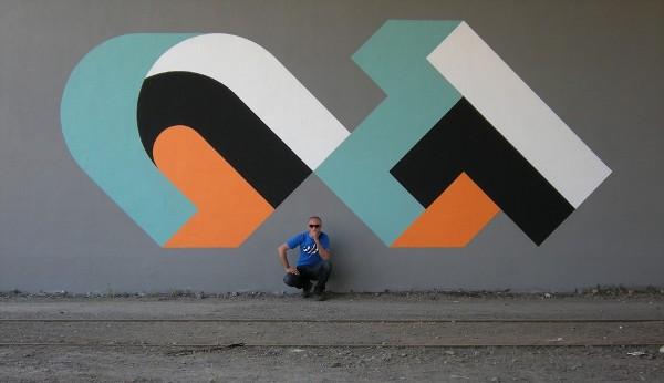 Modern Graffiti by CT 5 Modern Graffiti by CT