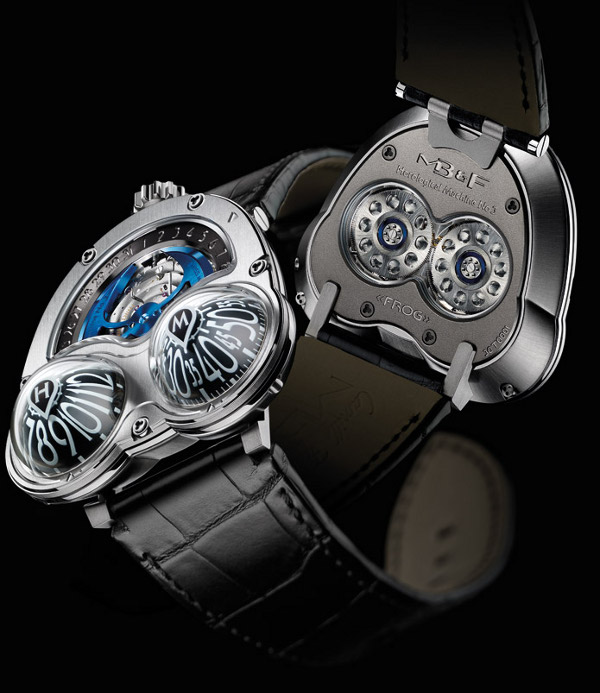 mbandf hm3 frog watch 3 MB&F HM3 Frog Watch