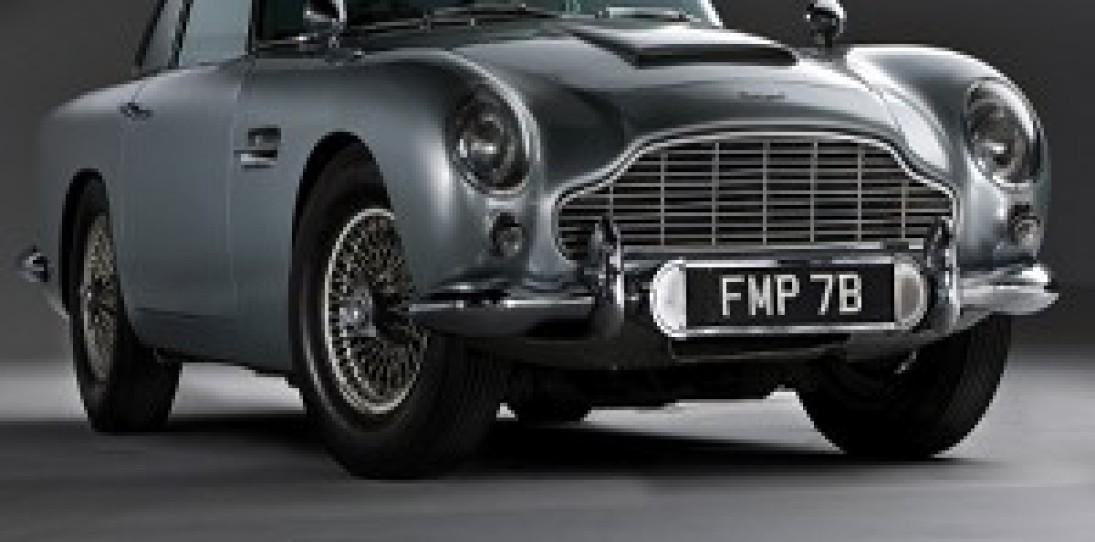 For Sale: The James Bond Aston Martin DB5