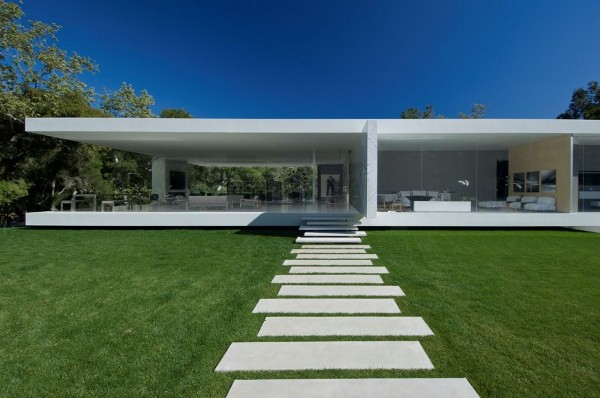 glass pavilion house steve hermann 1 The Glass Pavilion House by Steve Hermann