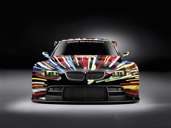 jeff koons bmw art car 1 BMW Art Car by Jeff Koons