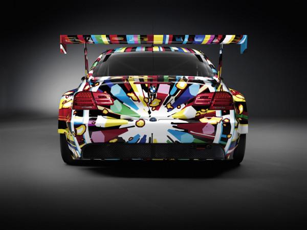 jeff koons bmw art car 4 BMW Art Car by Jeff Koons