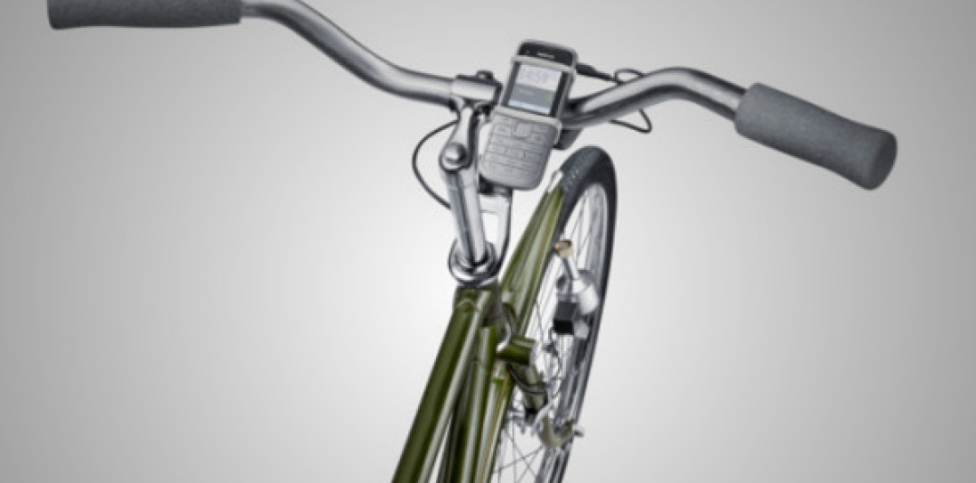 Nokia Bike-Powered Phone Charger