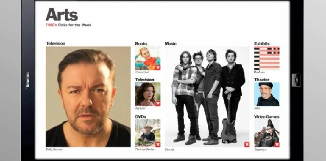 Time Magazine iPad App