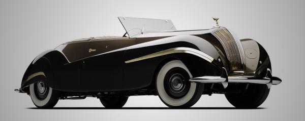 1939 Rolls Royce Phantom III Vutotal Cabriolet by Labourdette 1 1939 Rolls Royce Phantom III Cabriolet