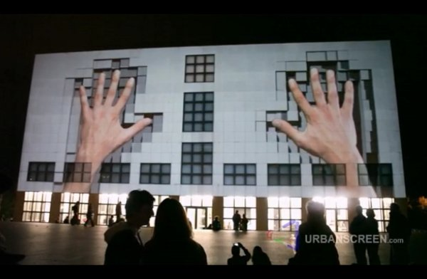 3d projection mapping 2 When Buildings Come Alive: 10 Unreal Urban Projection Mapping Videos