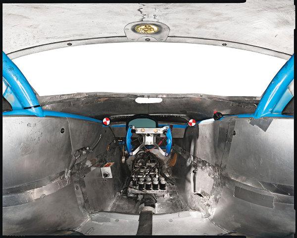 Hydrogen ICE Streamliner Cockpit