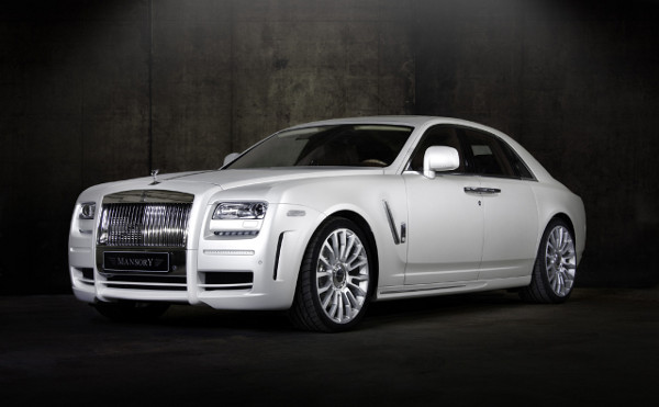 Mansory White Ghost Limited Rolls Royce 1 Rolls Royce White Ghost by Mansory