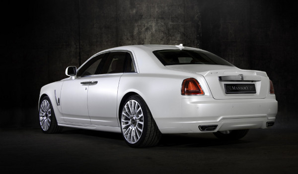 Mansory White Ghost Limited Rolls Royce 2