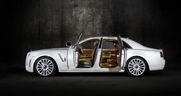 Mansory White Ghost Limited Rolls Royce 4