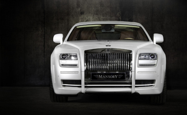 Mansory White Ghost Limited Rolls Royce 5
