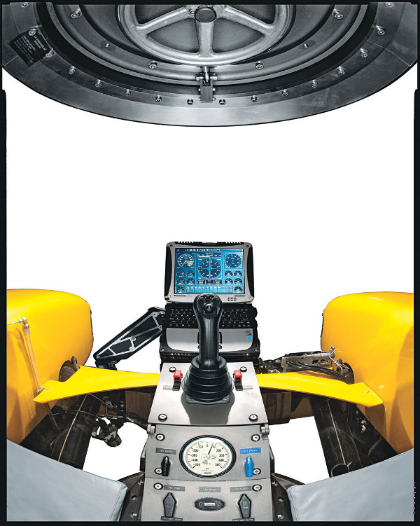 Triton 1000-2 Submarine Cockpit