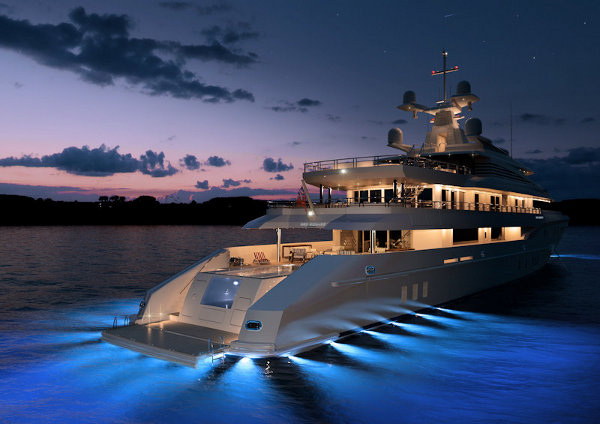red square yacht by dunya yachts 1 Red Square Luxury Yacht by Dunya Yachts