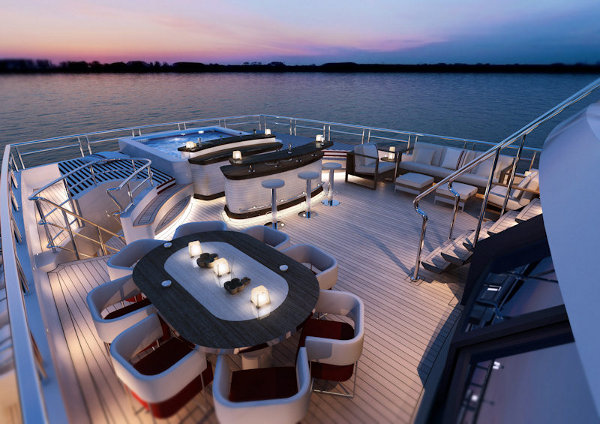 red square yacht by dunya yachts 5 Red Square Luxury Yacht by Dunya Yachts