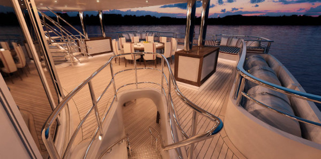 Red Square Luxury Yacht by Dunya Yachts