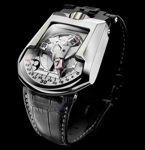 urwerk white shark ur 202 1 Urwerk White Shark Watch