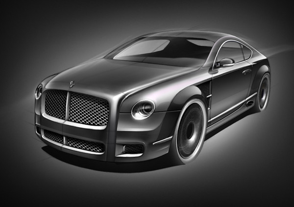 Bentley R Type Concept 8