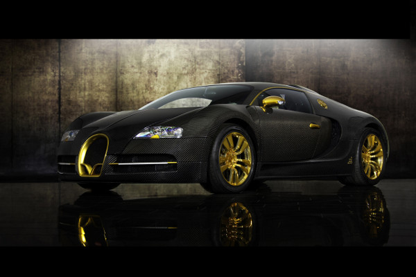 Bugatti Veyron by Mansory Linea Vincero d'Oro 1