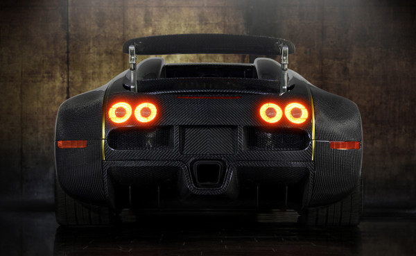 Bugatti Veyron by Mansory Linea Vincero d'Oro 4