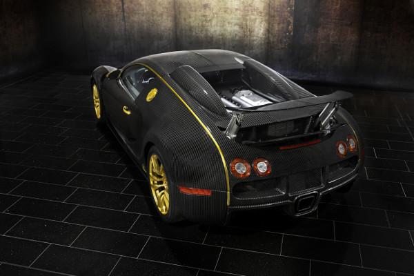 Bugatti Veyron by Mansory Linea Vincero d'Oro 6