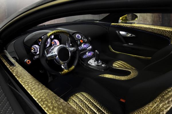 Bugatti Veyron by Mansory Linea Vincero d'Oro 9