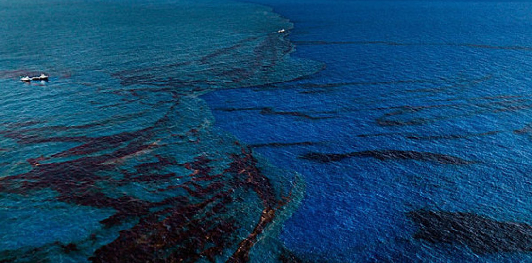 Edward Burtynsky Oil Spill Photography