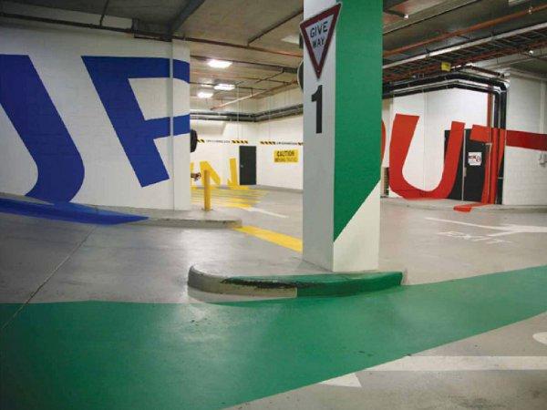 Eureka Carpark Melbourne 1