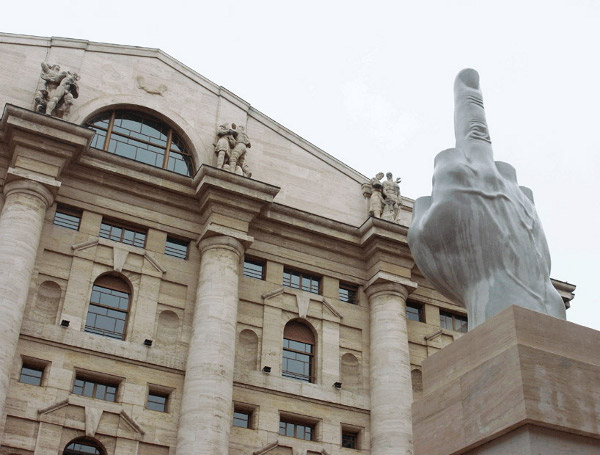 Image result for 1 fingered statue