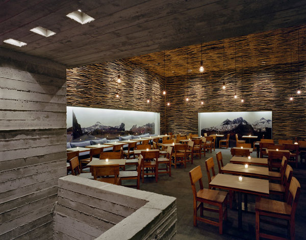 Designer dining magnificent modern restaurant designs