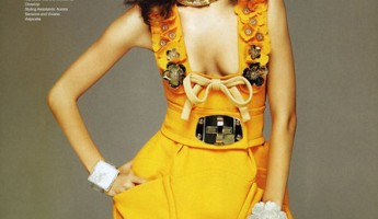 Alessandra Ambrosio in Vogue Nippon