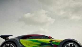 Citroen Survolt Art Car by Francoise Nielly