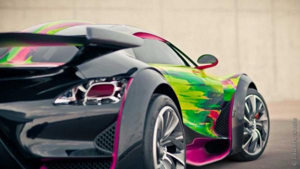 Citroen Survolt Art Car by Francoise Nielly4 Citroen Survolt Art Car by Francoise Nielly