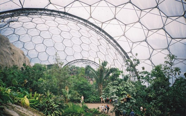 Eden Project World's Largest Greenhouse 2