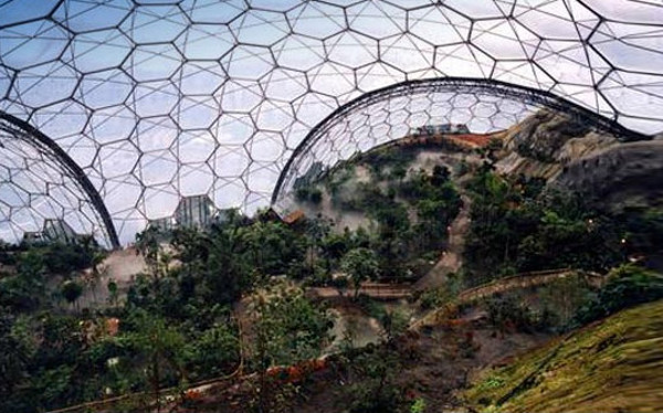Eden Project World's Largest Greenhouse 3