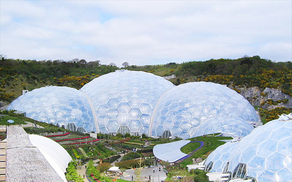 Eden Project World's Largest Greenhouse 4