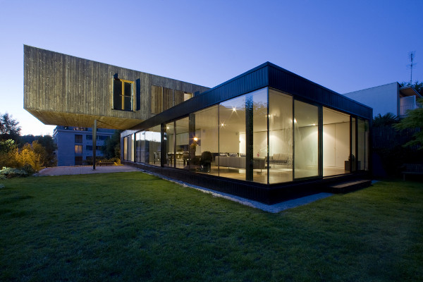 House in Sevres by Colboc Franzen Associes 1 House in Sevres by Colboc Franzen & Associes