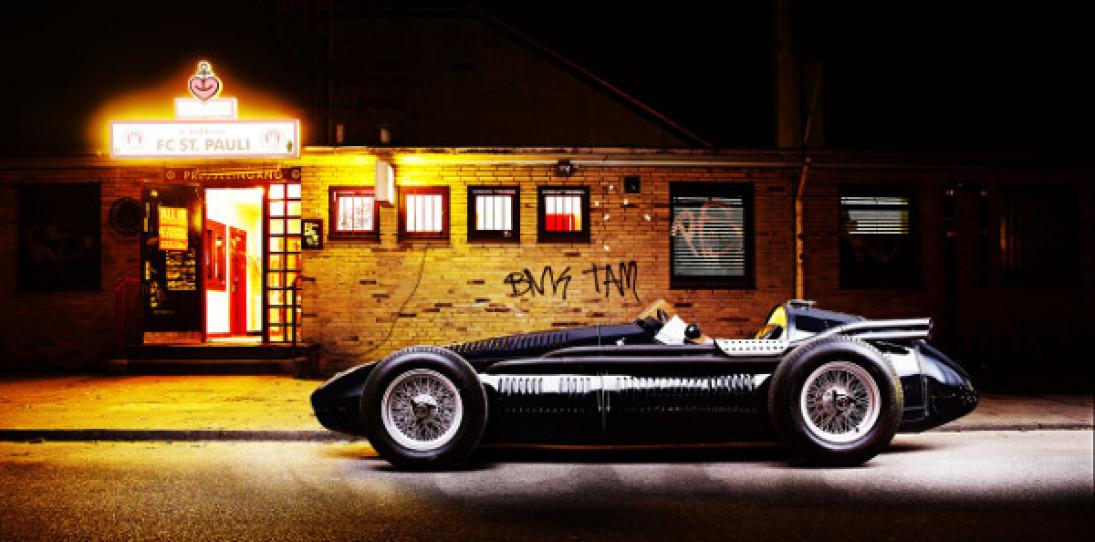 Maserati 250f Restored and Admired