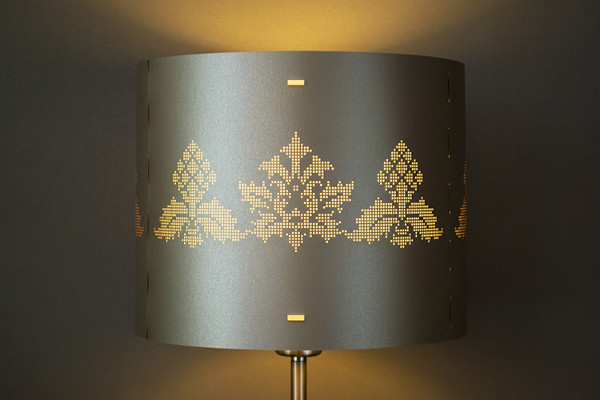 Baroque pixel lamp gallery