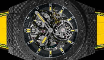 Hublot King Power Ayrton Senna Tourbillon Watch
